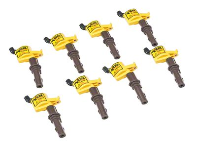 Accel Super Coil Packs - Yellow (Mid 08-10 GT)