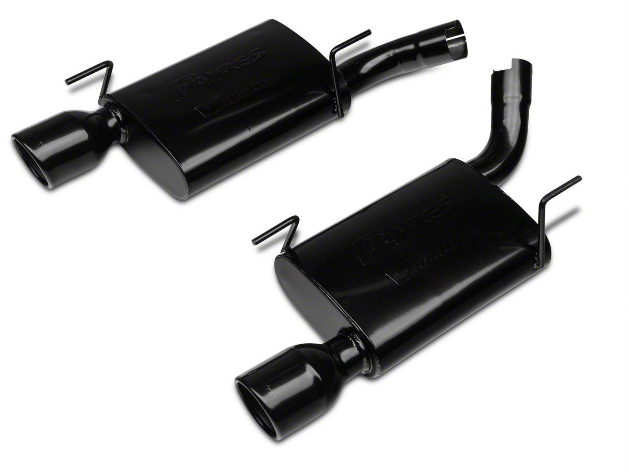 Pypes Violator Axle-Back Exhaust - Black (05-10 GT, GT500)