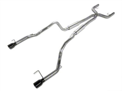 Pypes Mid-Muffler True Dual Exhaust - Black (05-10 V6)