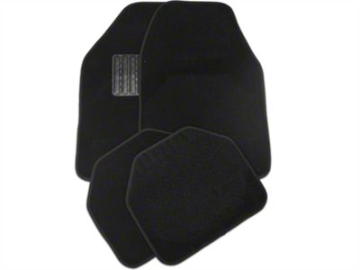 TruShield 4-Piece Fabric Floor Mat Set - Black (79-14 All)