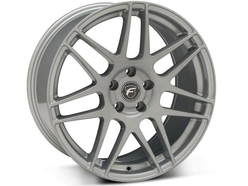 Forgestar F14 Monoblock Silver Wheel - 19x9.5 (15-19 GT, EcoBoost, V6)