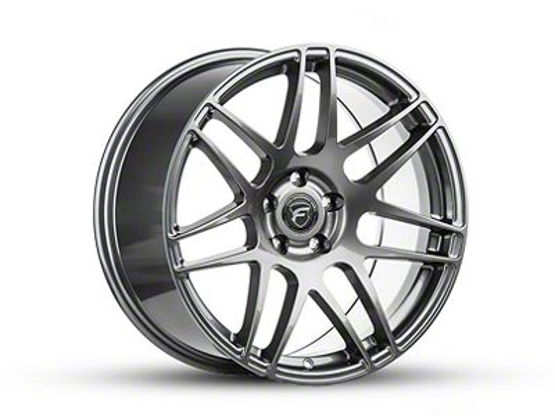 Forgestar CF5 Monoblock Gunmetal Wheel - 19x9.5 (15-19 GT, EcoBoost, V6)