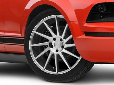 Niche Surge Silver Machined Directional Wheel - Driver Side - 20x8.5 (05-14 All)