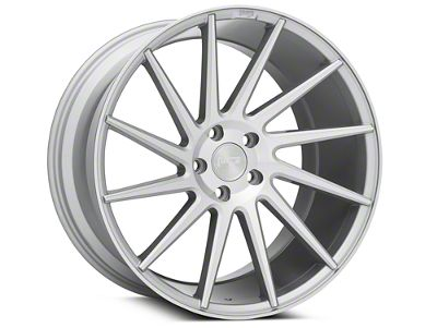 Niche Surge Silver Machined Directional Wheel - Driver Side - 20x10.5 - Rear Only (05-14 All)