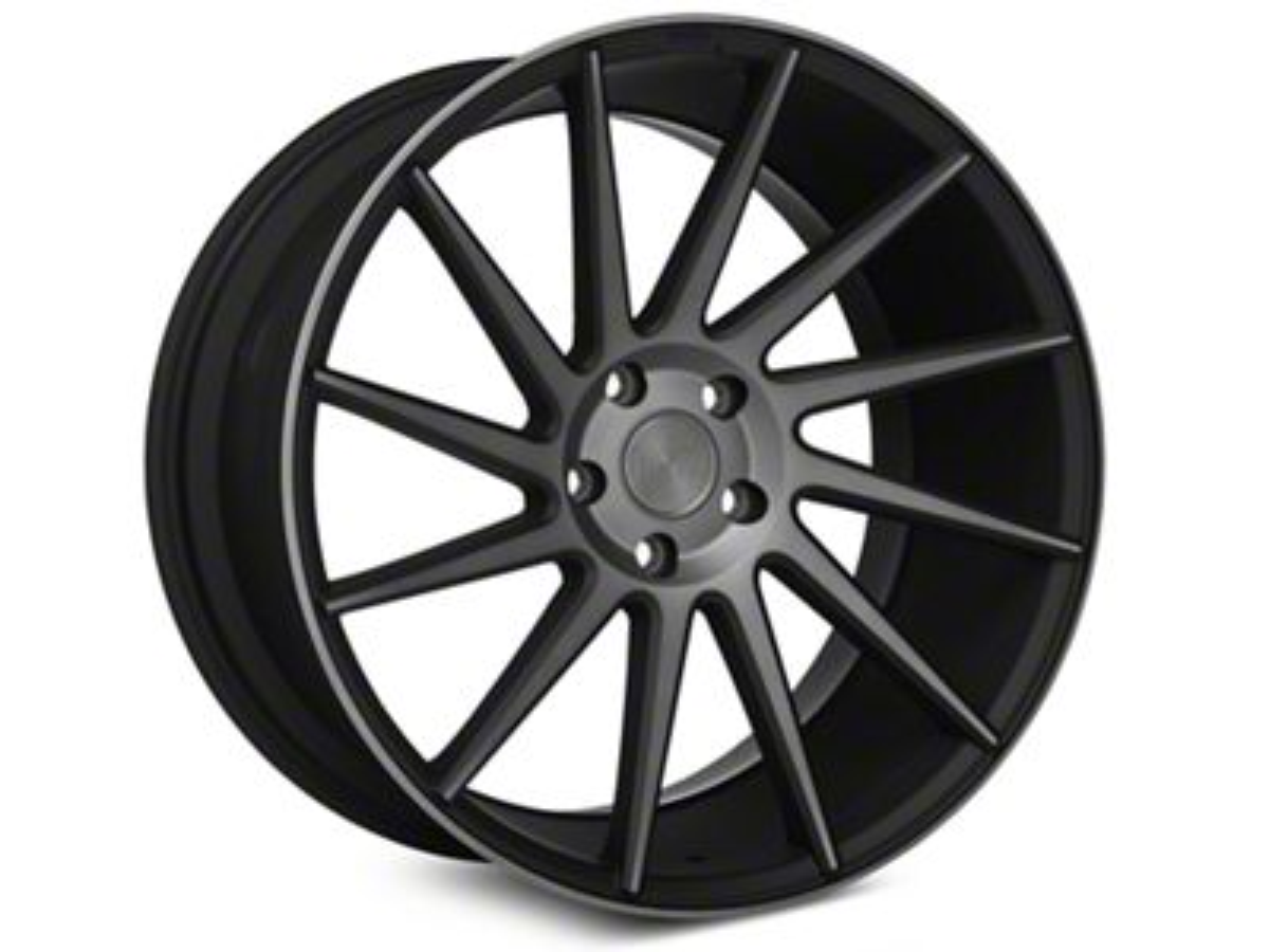 Niche Surge Double Dark Directional Wheel - Driver Side - 20x8.5 (05-14 All)