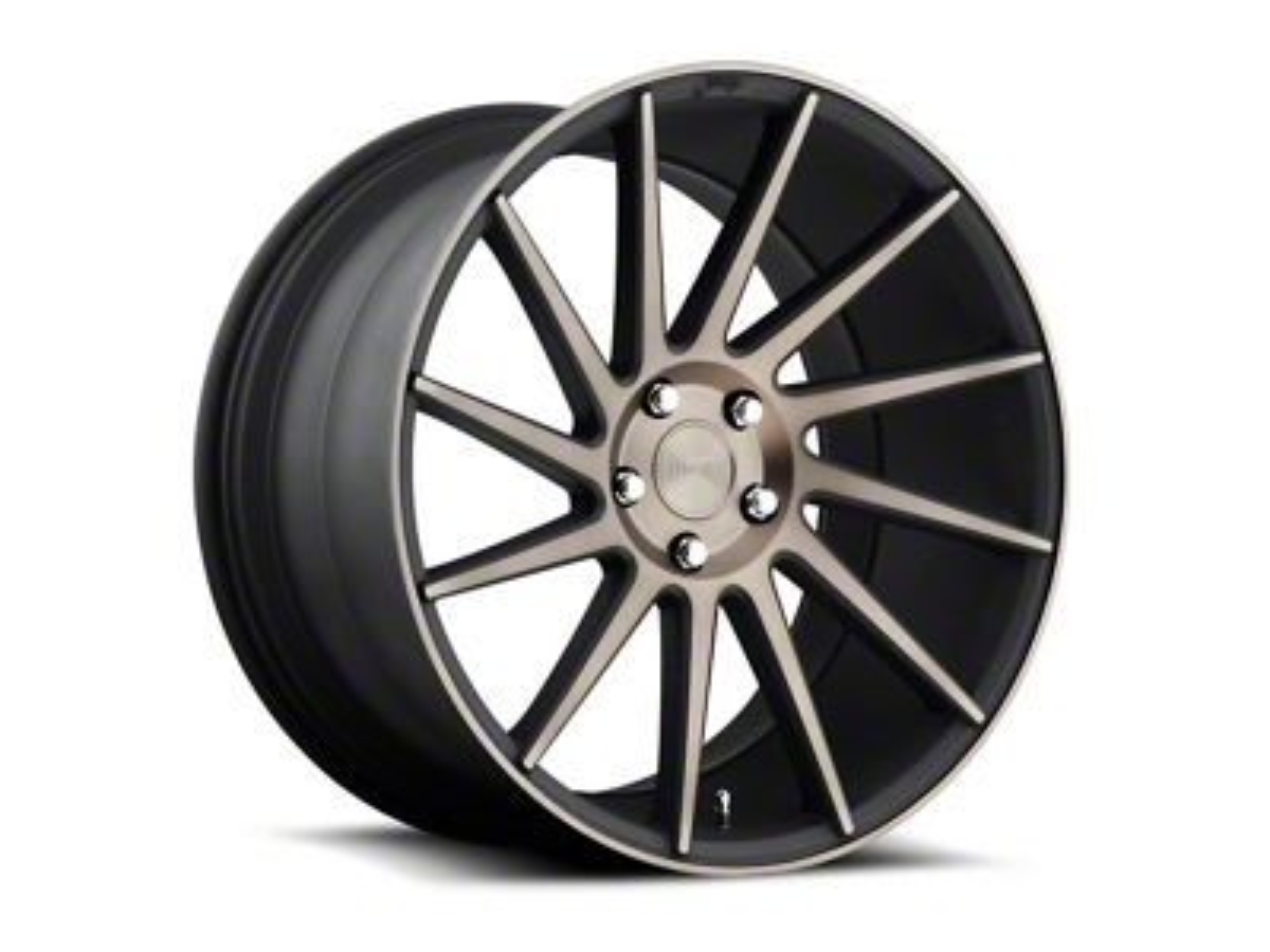 Niche Surge Double Dark Directional Wheel - Driver Side - 20x8.5 (15-18 GT, EcoBoost, V6)