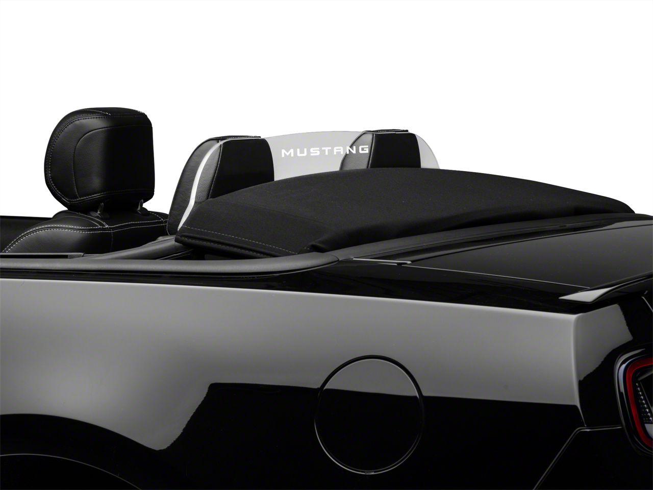 SpeedForm Laser Engraved Wind Deflector - Mustang Lettering (11-14 Convertible)