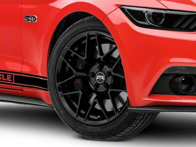 RTR Tech 7 Black Wheel - 19x9.5 (15-19 GT, EcoBoost, V6)