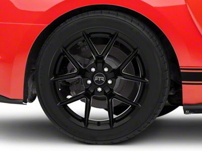 RTR Tech 5 Black Wheel - 19x10.5 - Rear Only (15-19 All)