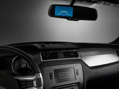 Raxiom Auto-Dimming 3.5 in. Rear View Mirror w/ Backup Camera (05-14 All)