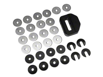 Maximum Motorsports IRS Differential Bushings - Aluminum (99-04 Cobra)