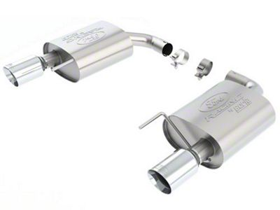 Ford Performance by Borla Touring Axle-Back Exhaust w/ Chrome Tip (15-19 EcoBoost w/o Active Exhaust)