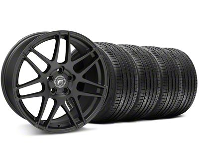Forgestar F14 Monoblock Matte Black Wheel & Sumitomo HTR-Z III Tire Kit - 20x9.5 (15-19 All)