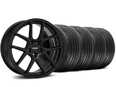 MMD Zeven Black Wheel & Sumitomo Tire Kit - 20x8.5 (15-19 All)