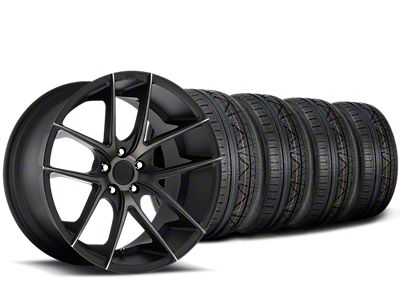 Niche Targa Black Wheel & NITTO INVO Tire Kit - 20x8.5 (15-19 All)