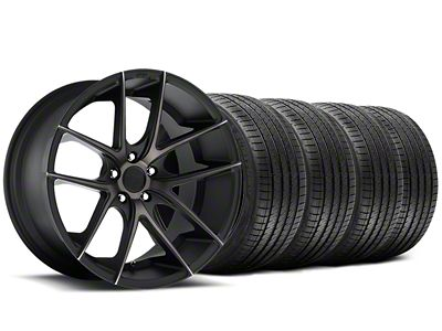 Niche Targa Black Wheel & Sumitomo Tire Kit - 20x8.5 (15-19 All)