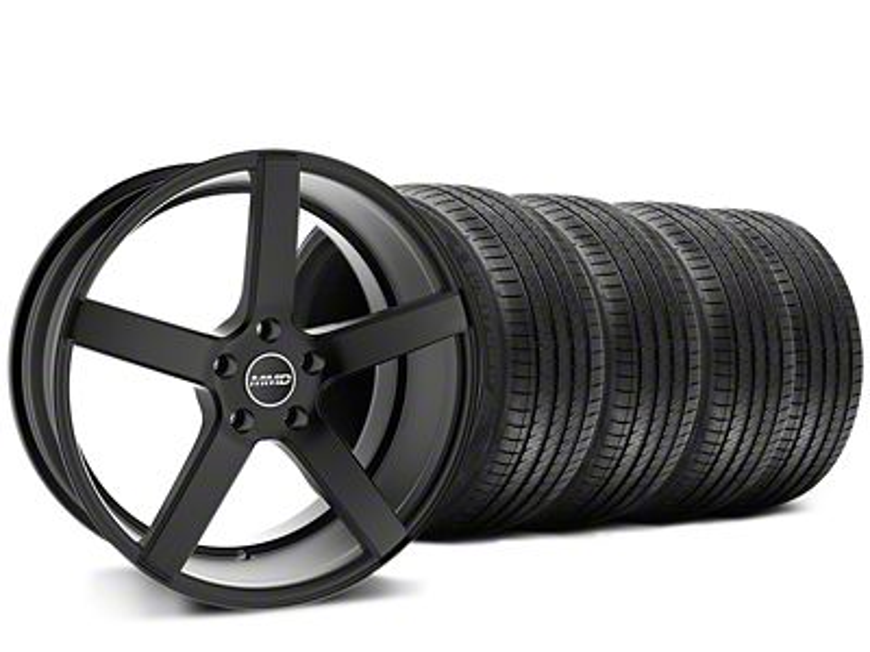 MMD 551C Black Wheel & Sumitomo Tire Kit - 20x8.5 (15-19 GT, EcoBoost, V6)