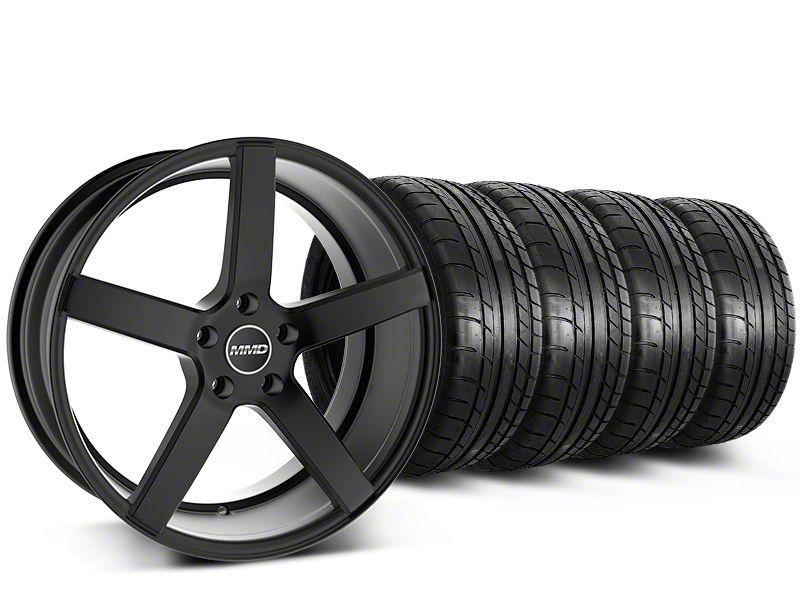 MMD 551C Black Wheel & Mickey Thompson Tire Kit - 20x8.5 (15-19 GT, EcoBoost, V6)