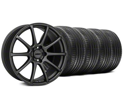 MMD Axim Charcoal Wheel & Sumitomo Tire Kit - 20x8.5 (15-19 GT, EcoBoost, V6)