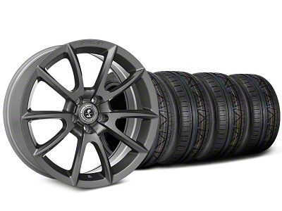 Shelby Super Snake Style Charcoal Wheel & NITTO INVO Tire Kit - 20x9 (15-19 All)