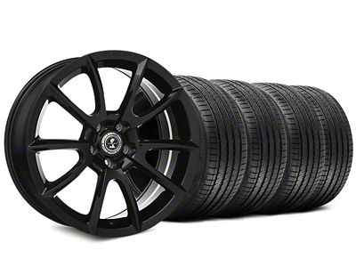 Shelby Super Snake Style Black Wheel & Sumitomo Tire Kit - 20x9 (15-19 All)