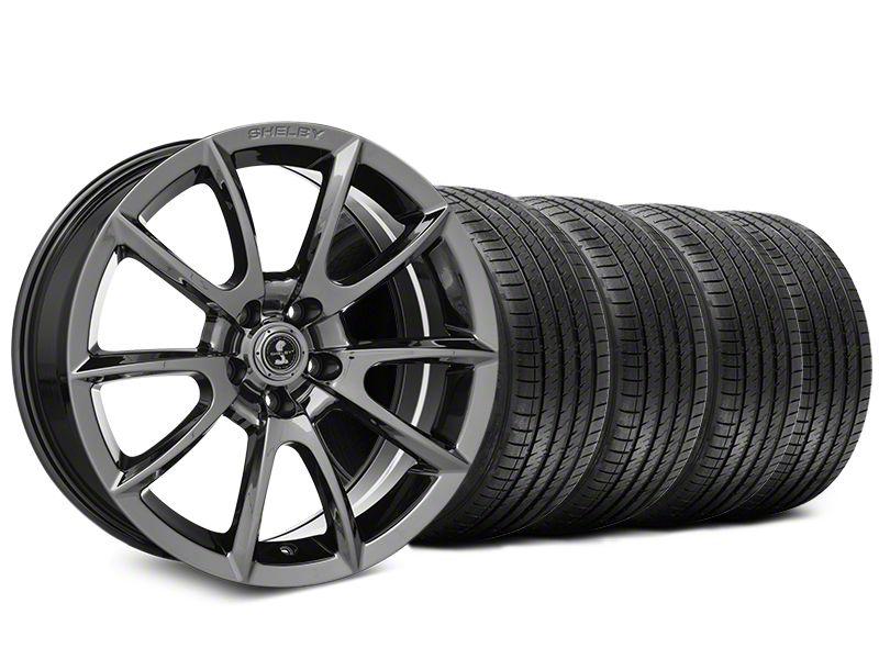 Shelby Super Snake Style Chrome Wheel & Sumitomo Tire Kit - 20x9 (15-19 All)