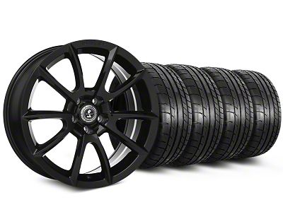 Shelby Super Snake Style Black Wheel & Mickey Thompson Tire Kit - 20x9 (15-19 GT, EcoBoost, V6)