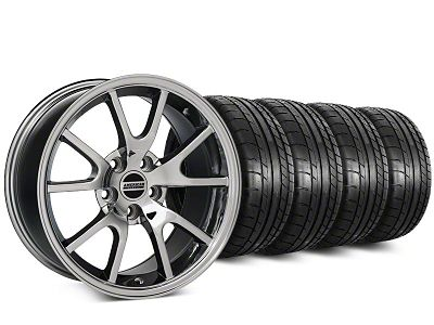 Staggered FR500 Style Chrome Wheel & Mickey Thompson Tire Kit - 20 in. - 2 Rear Options (15-19 All)