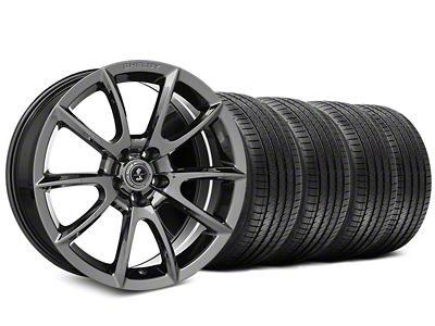 Staggered Shelby Super Snake Style Chrome Wheel & Sumitomo Tire Kit - 20x9/10 (15-19 All)