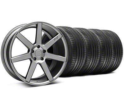 Staggered Niche Verona Anthracite Wheel & Sumitomo Tire Kit - 20x9/10 (15-19 All)