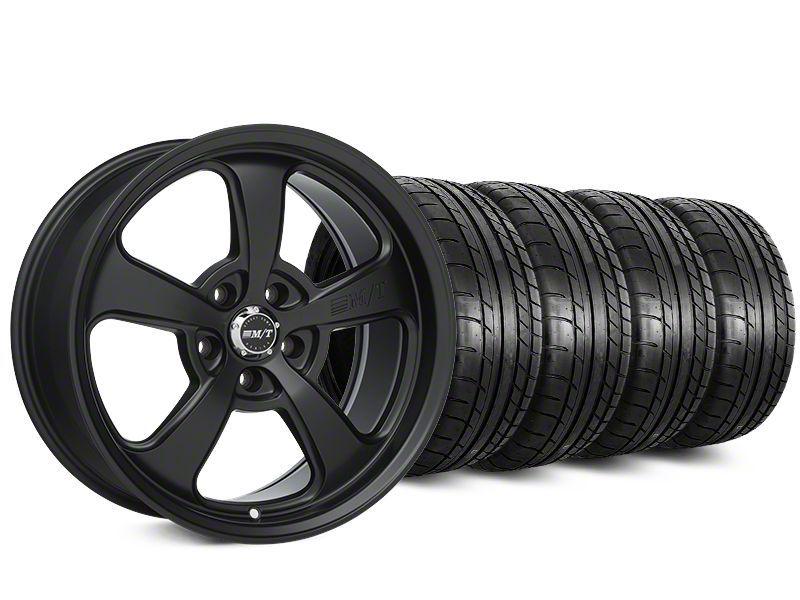 Staggered Mickey Thompson SC-5 Flat Black Wheel & Mickey Thompson Tire Kit - 20x9/10.5 (15-19 All)