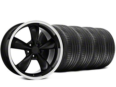 Bullitt Black Wheel & Sumitomo Tire Kit - 20x8.5 (15-19 EcoBoost, V6)