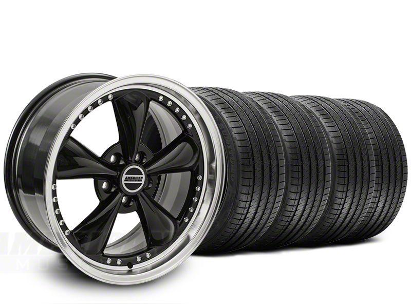 Bullitt Motorsport Black Wheel & Sumitomo Tire Kit - 20x8.5 (15-19 EcoBoost, V6)
