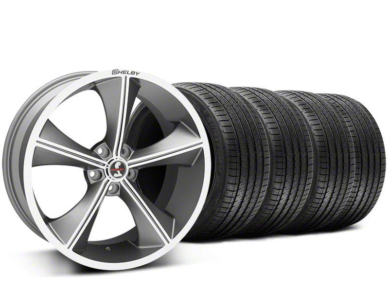 Shelby CS70 Gunmetal Wheel & Sumitomo Tire Kit - 20x9 (15-17 GT, V6, and EcoBoost)