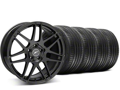 Forgestar F14 Monoblock Piano Black Wheel & Sumitomo Tire Kit - 20x9 (15-19 All)
