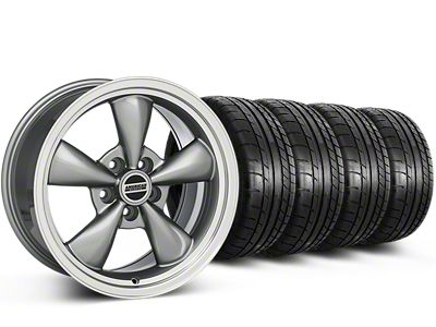 Deep Dish Bullitt Anthracite Wheel & Mickey Thompson Tire Kit - 20x8.5 (15-19 EcoBoost, V6)