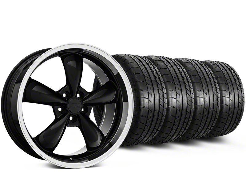 Deep Dish Bullitt Black Wheel & Mickey Thompson Tire Kit - 20x8.5 (15-19 EcoBoost, V6)