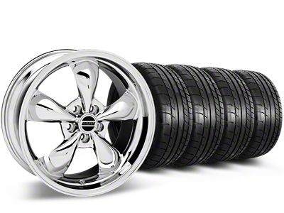Deep Dish Bullitt Chrome Wheel & Mickey Thompson Tire Kit - 20x8.5 (15-19 EcoBoost, V6)