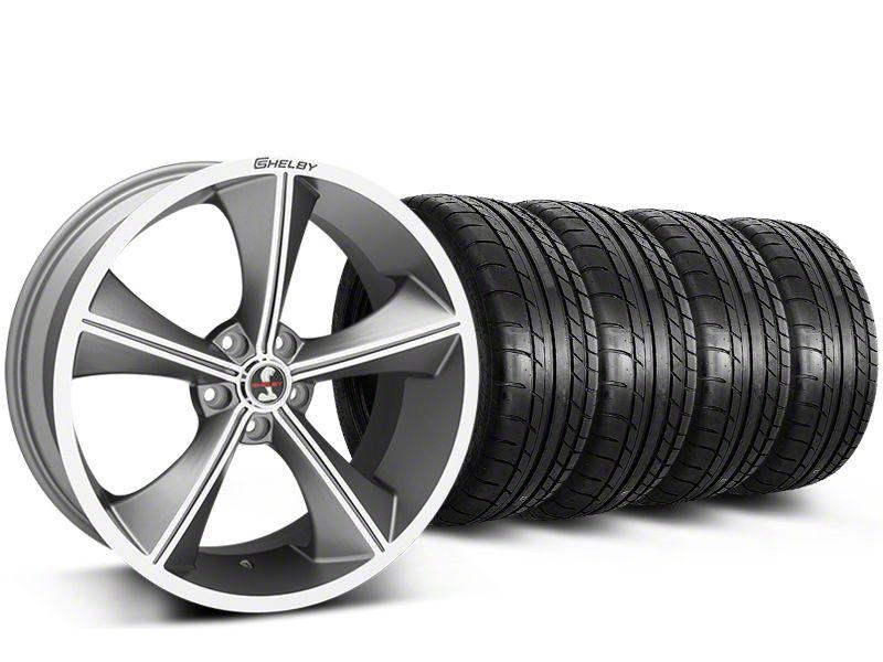 Shelby CS70 Gunmetal Wheel & Mickey Thompson Tire Kit - 20x9 (15-17 All)