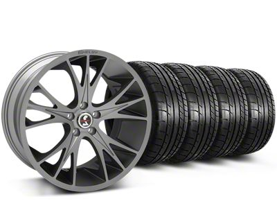 Shelby CS1 Gunmetal Wheel & Mickey Thompson Tire Kit - 20x9 (15-19 All)