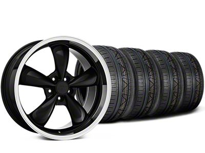 Deep Dish Bullitt Black Wheel & NITTO INVO Tire Kit - 20x8.5 (15-19 EcoBoost, V6)