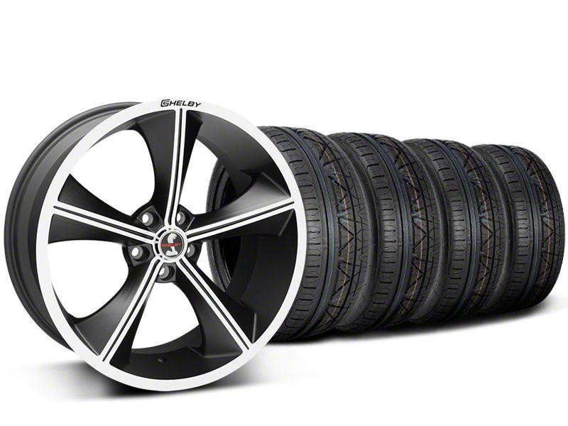 Shelby CS70 Matte Black Wheel & NITTO INVO Tire Kit - 20x9 (15-19 All)