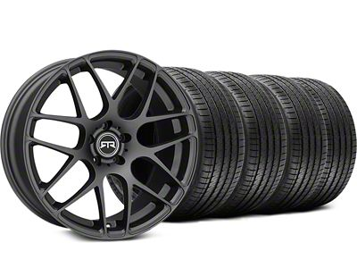 RTR Charcoal Wheel & Sumitomo Tire Kit - 19x9.5 (15-19 GT, EcoBoost, V6)