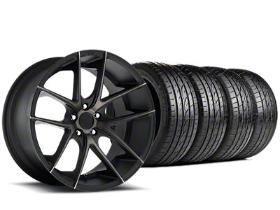 Niche Targa Black Wheel & Sumitomo Tire Kit - 19x8.5 (15-19 GT, EcoBoost, V6)