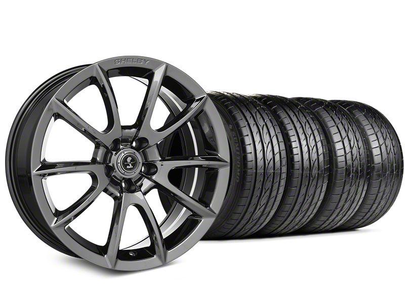 Shelby Super Snake Style Chrome Wheel & Sumitomo Tire Kit - 19x8.5 (15-19 All)