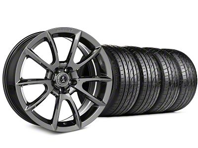 Staggered Shelby Super Snake Style Chrome Wheel & Sumitomo Tire Kit - 19x8.5/10 (15-19 All)