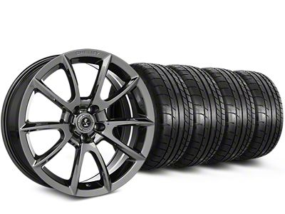 Staggered Shelby Alcoa Style Chrome Wheel & Mickey Thompson Tire Kit - 19x8.5/10 (15-19 All)