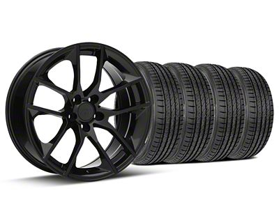 Magnetic Style Black Wheel & Sumitomo Tire Kit - 19x8.5 (15-19 GT, EcoBoost, V6)