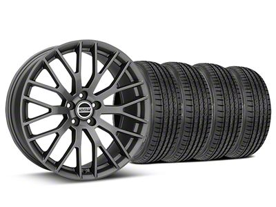 Performance Pack Style Charcoal Wheel & Sumitomo Tire Kit - 19x8.5 (15-19 All)