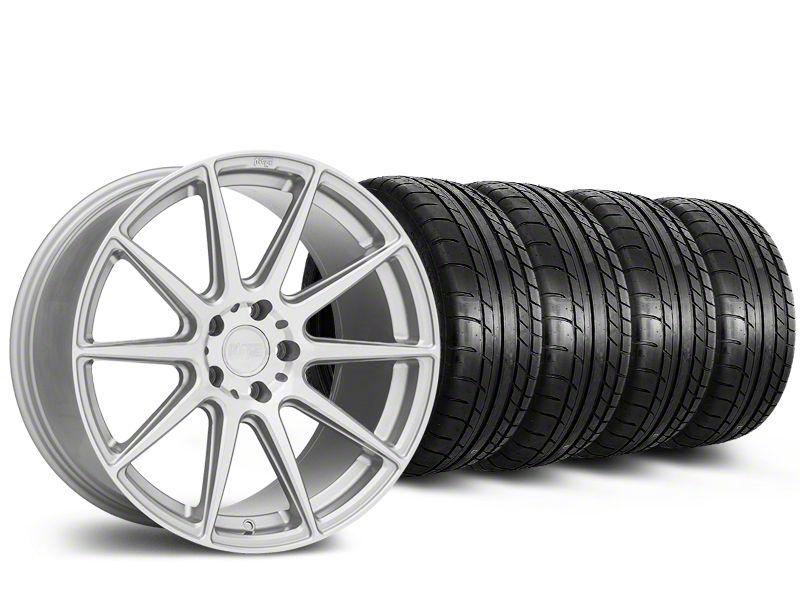 Niche Essen Silver Wheel & Mickey Thompson Tire Kit - 19x8.5 (15-19 All)